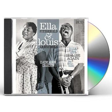 Ella Fitzgerald CLASSIC ALBUM COLLECTION (ELLA & LOUIS / AGAIN) CD