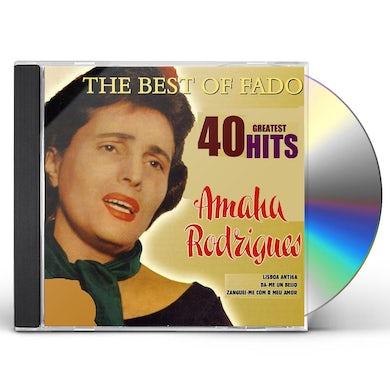 Amalia Rodrigues BEST OF FADO: 1959-1969 CD