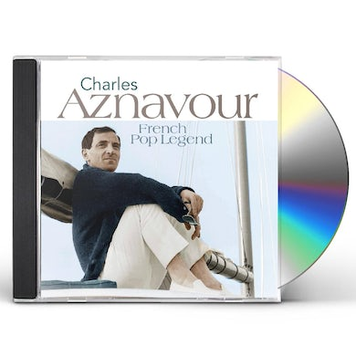 Charles Aznavour FRENCH POP LEGENDS CD