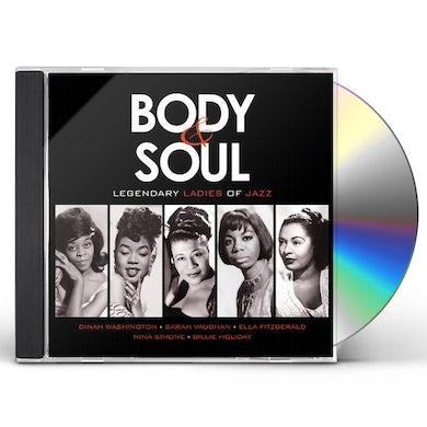 BODY & SOUL: LEGENDARY LADIES OF JAZZ / VARIOUS CD