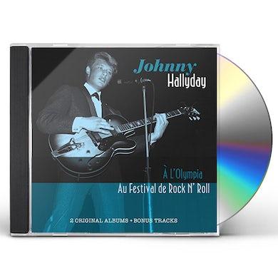 JOHNNY A LA OLYMPIA / JOHNNY HALLYDAY ET SES FANS CD