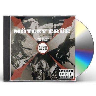 Mötley Crüe CARNIVAL OF SINS: LIVE CD