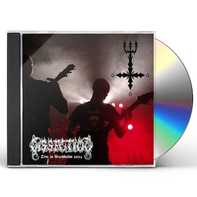 Dissection LIVE IN STOCKHOLM 2004 CD