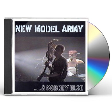 New Model Army NOBODY ELSE CD