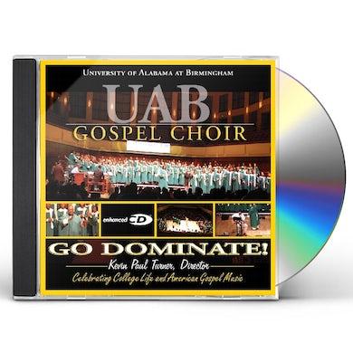 UAB Gospel Choir GO DOMINATE CD