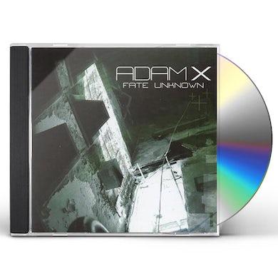 Adam X FATE UNKNOWN CD