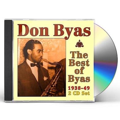 Don Byas BEST OF BYAS: 1938 - 1949 CD