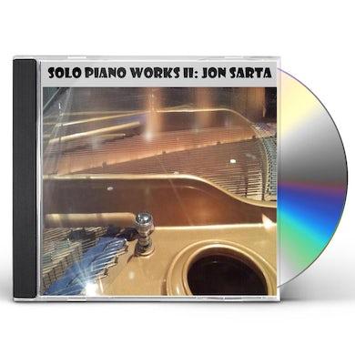 Jon Sarta SOLO PIANO WORKS II CD