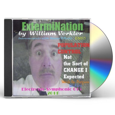 William Verkler EXTERMINATION CD