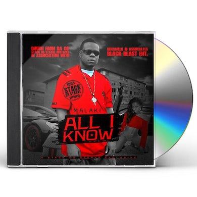 Malaki ALL I KNOW CD