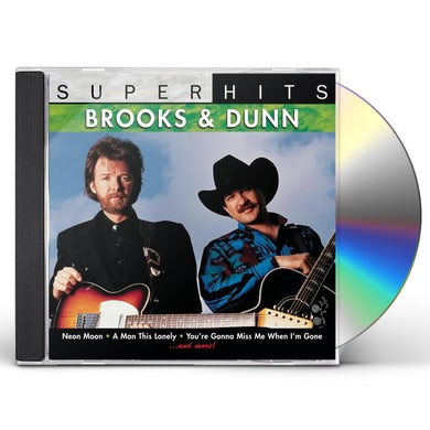 Brooks & Dunn SUPER HITS CD