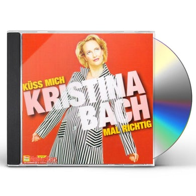 Kristina Bach KUSS MICH MAL RICHTIG CD