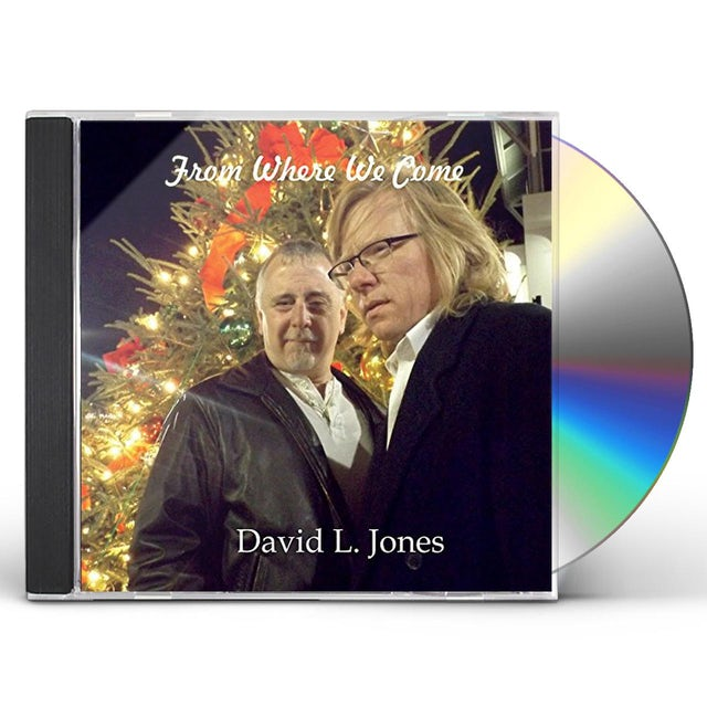 David Jones FROM WHERE WE COME CD