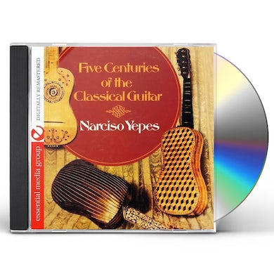 Narciso Yepes FIVE CENTURIES OF THE CLASSICAL GUITAR CD