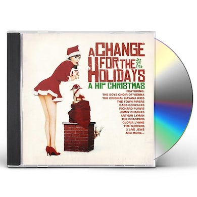 Jimmy Charles CHANGE FOR THE HOLIDAYS: HIP CHRISTMAS CD