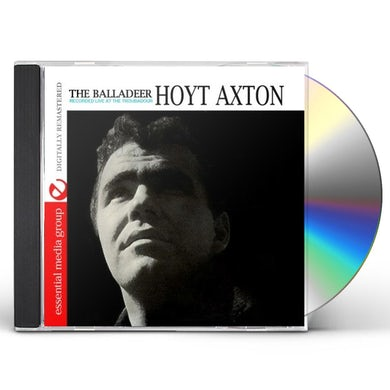 Hoyt Axton THE BALLADEER: RECORDED LIVE AT THE TROUBADOUR CD
