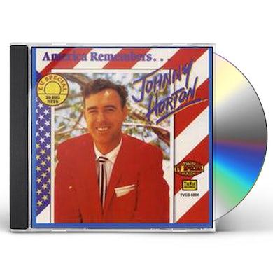 Johnny Horton AMERICA REMEMBERS CD