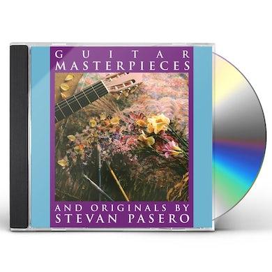 Stevan Pasero GUITAR MASTERPIECES CD