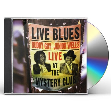 Buddy Guy & Junior Wells LIVE AT THE MYSTERY CLUB CD