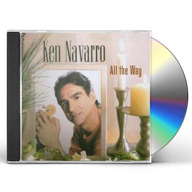 Ken Navarro ALL THE WAY CD
