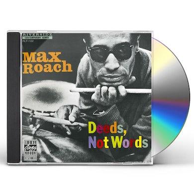 Max Roach DEEDS NOT WORDS CD