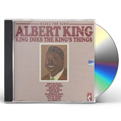 Albert King BLUES FOR ELVIS CD