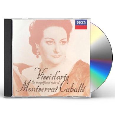 Montserrat Caballe VISSI D'ARTE CD