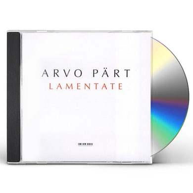 Arvo Part LAMENTATE CD