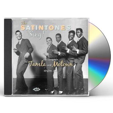 Satintones SING: COMPLETE TAMLA & MOTOW SINGLES CD