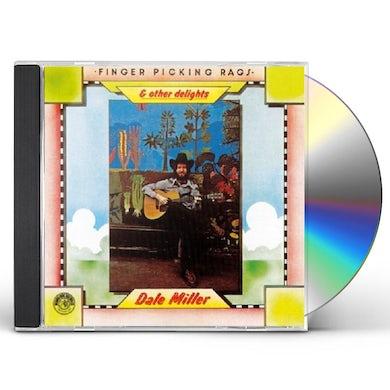 Dale Miller FINGERPICKING RAGS & OTHER DELIGHTS CD