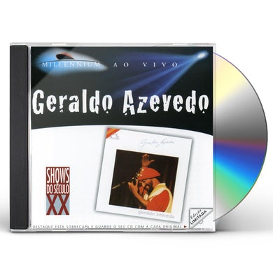 Geraldo Azevedo LUZ DO SOLO: AO VIVO CD