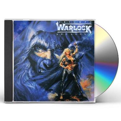 Warlock TRIUMPH & AGONY CD