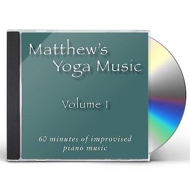 Matt Johnson MATTHEW'S YOGA MUSIC 1 CD