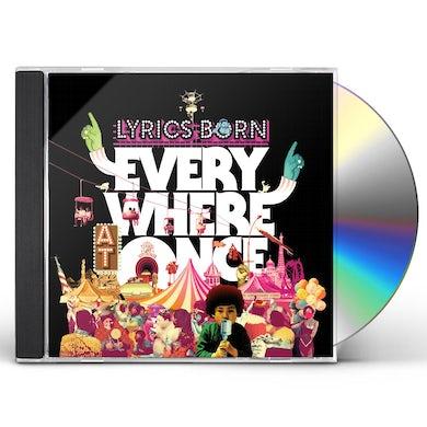 Lyrics Born EVERYWHERE AT ONCE CD