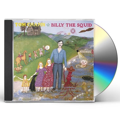 Tom Chapin BILLY THE SQUID CD