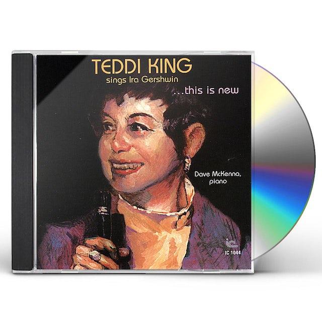 Teddi King SINGS IRA GERSHWI CD