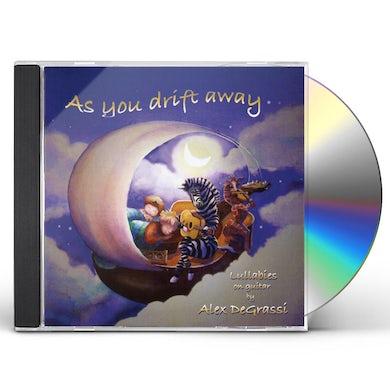 Alex De Grassi AS YOU DRIFT AWAY (LULLABIES ON GUITAR) CD