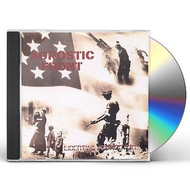 Agnostic Front LIBERTY & JUSTICE CD