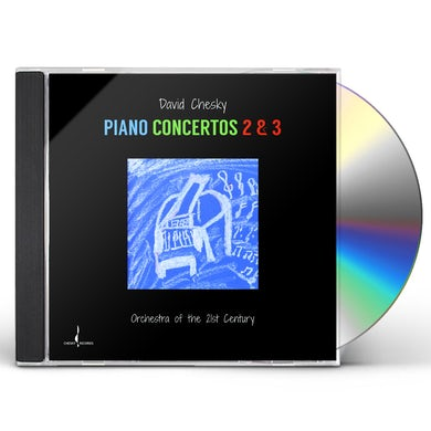 David Chesky PIANO CONCERTOS 2 & 3 CD