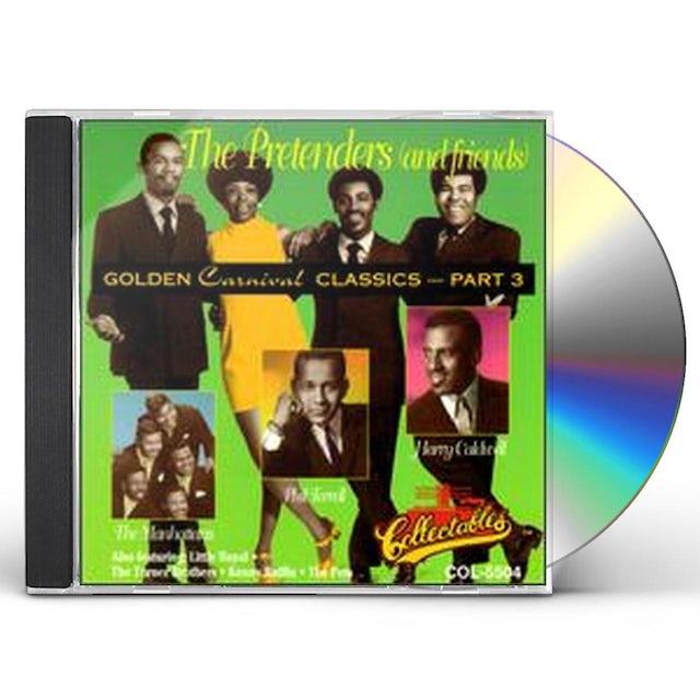 The Pretenders GOLDEN CARNIVAL CLASSICS 3 CD
