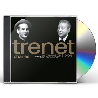 Charles Trenet 20 CHANSONS D'OR CD