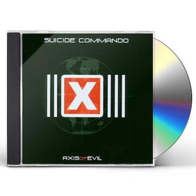 Suicide Commando AXIS OF EVIL CD