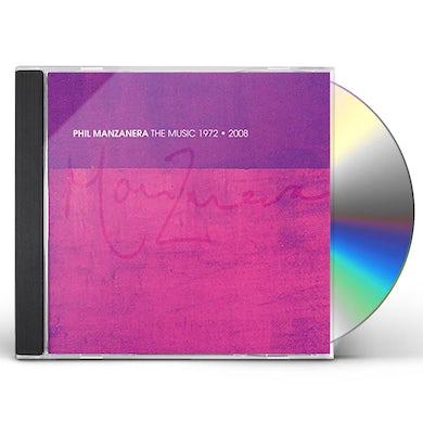 Phil Manzanera MUSIC 1972-2008 CD