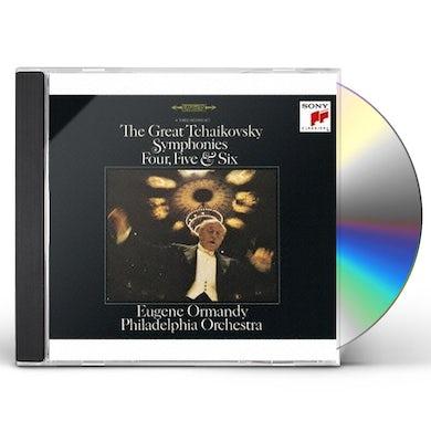 Eugene Ormandy TCHAIKOVSKY: THE GREAT SYMPHONIES CD