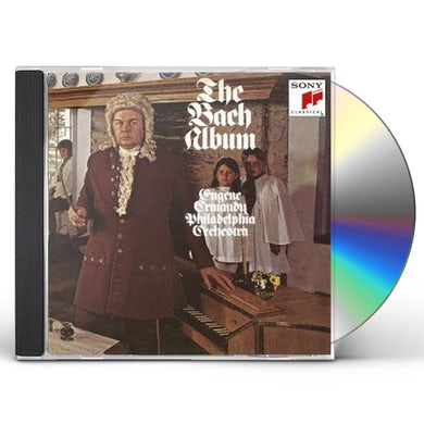 Eugene Ormandy BACH ALBUM CD