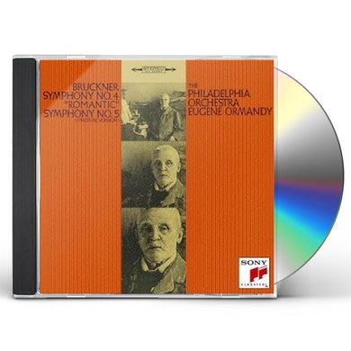 Eugene Ormandy BRUCKNER: SYMPHONIES NO. 4 'ROMANTIC CD
