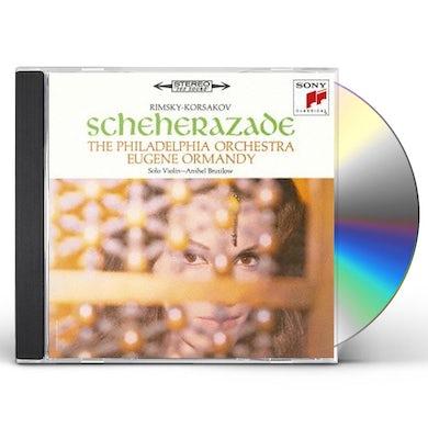 Eugene Ormandy RIMSKY-KORSAKOV: SHEHERAZADE & STRAV CD