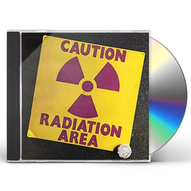 CAUTION RADIATION AREA CD