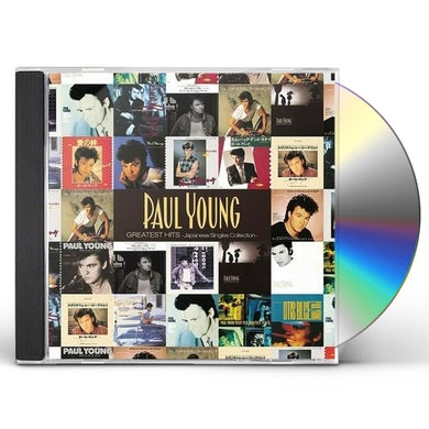 Paul Young GREATEST HITS JAPANESE SINGLES COLLECTION CD