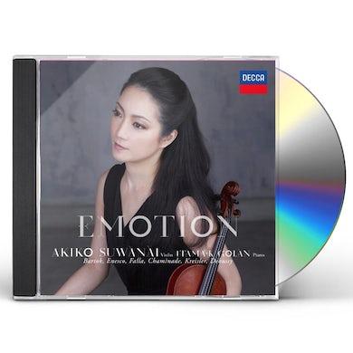 Akiko Suwanai EMOTION CD